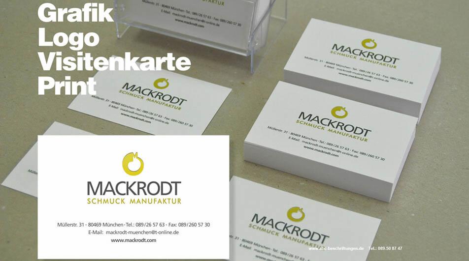 Visitenkarten Abc Beschriftungsbedarf Gmbh München